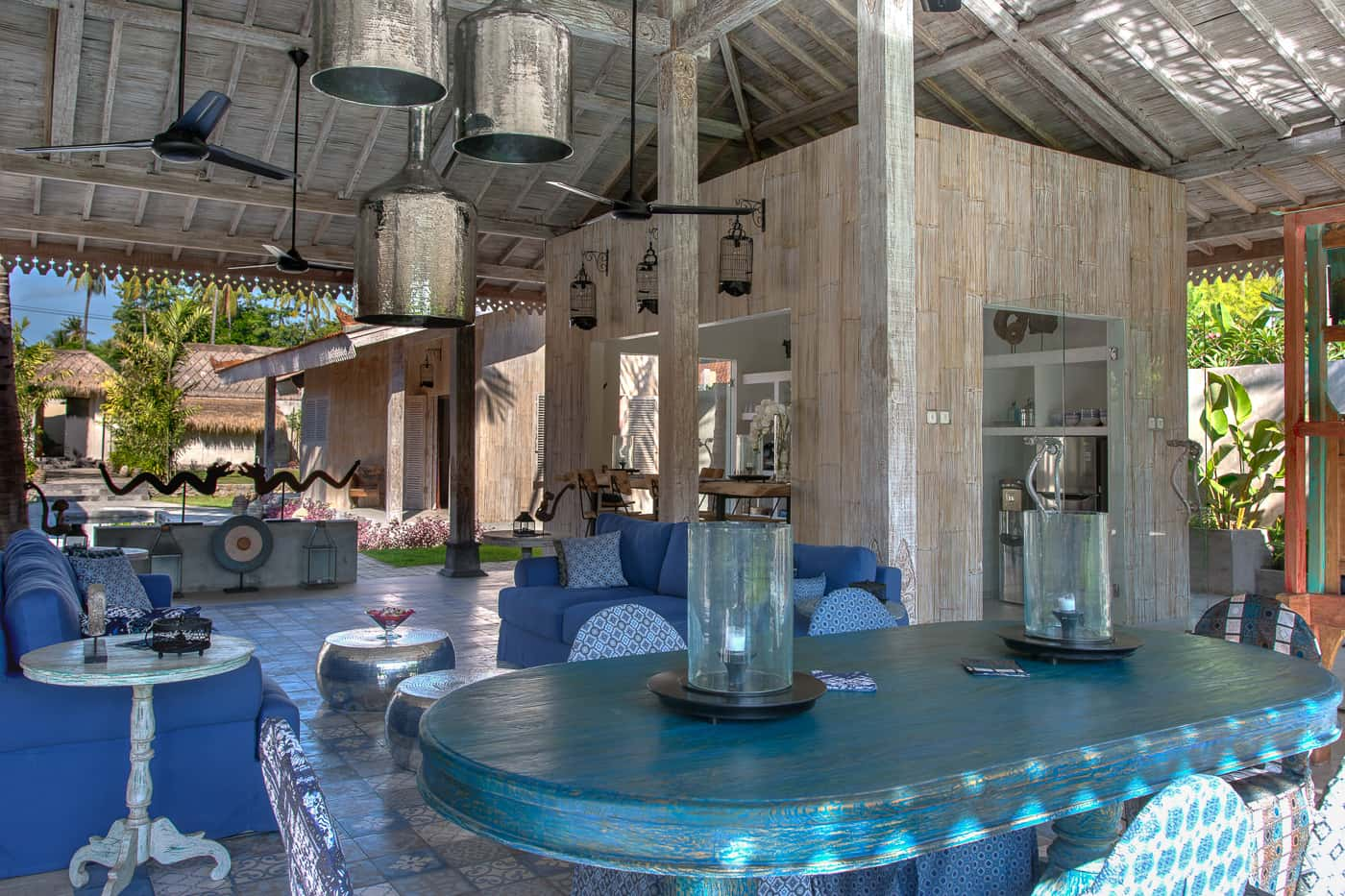 interior dining area image of Joglo House Lombok