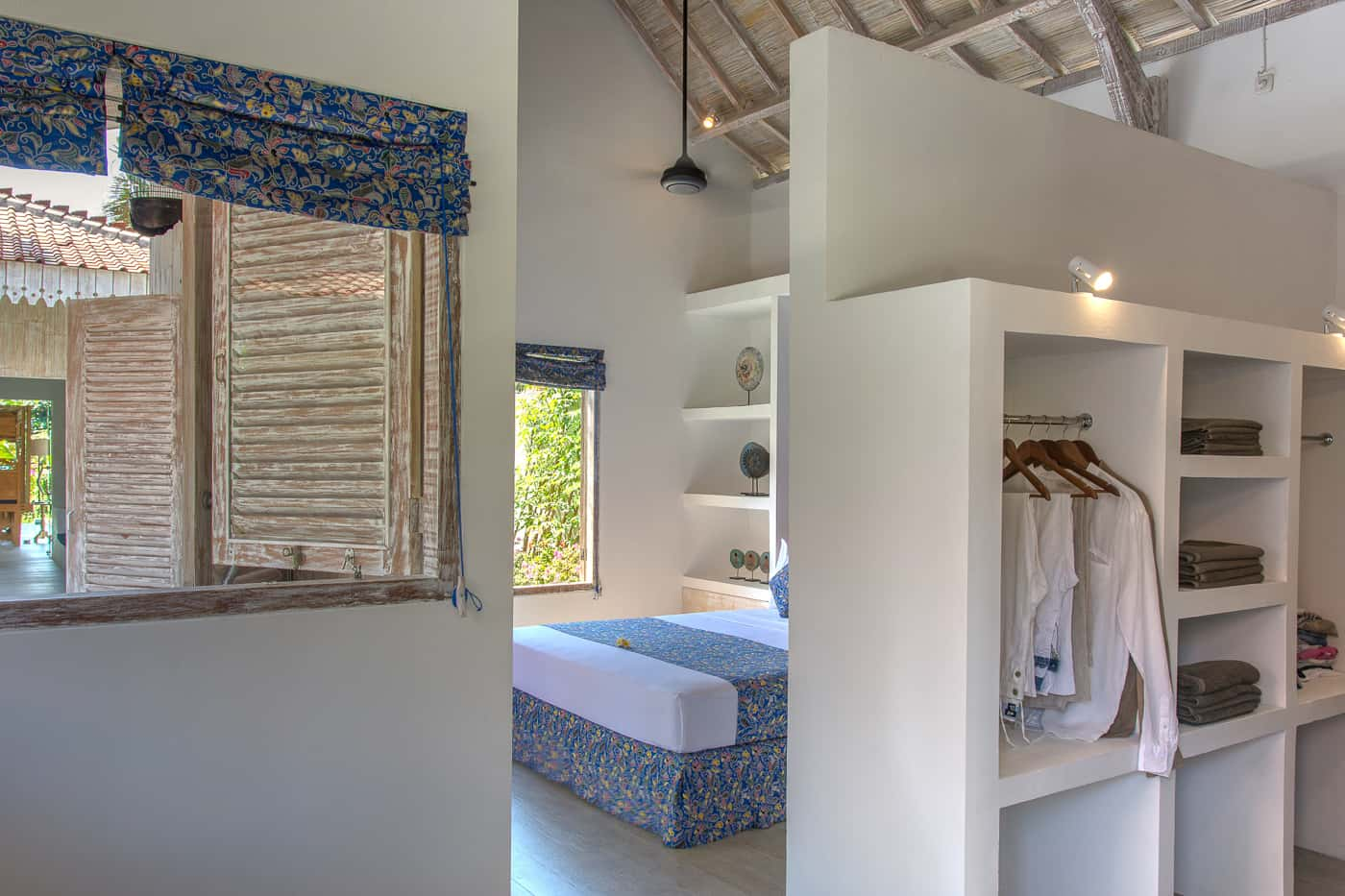 interior dressing room image of Joglo House Lombok