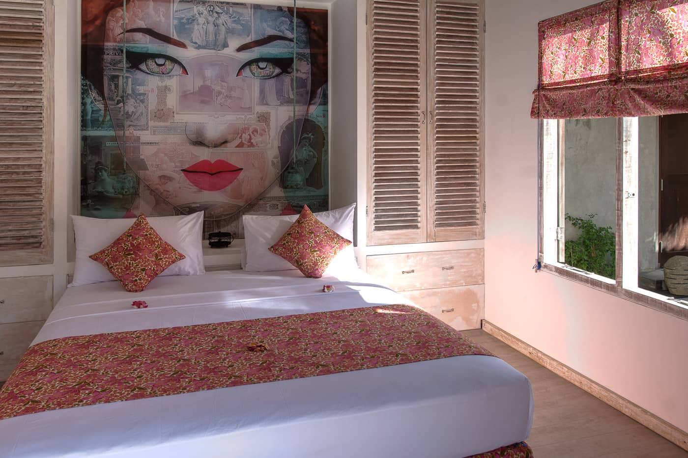 interior guest bedroom #2 image of Joglo House Lombok